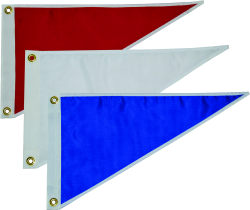 Taylor Made, Pennant, Solid Blue, Pennants