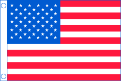 "Taylor Made, Flag, US, 50 Star, 48"" x 72 …"