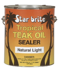 Tropical Teak Sealer Light Gal - Star Brite