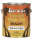 Tropical Teak Sealer Light Gal - Star Brite