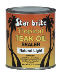 Tropical Teak Sealer Light Pt - Star Brite
