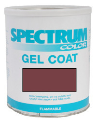 Glastron, 1998, Wine Color Boat Gel Coat Gall …