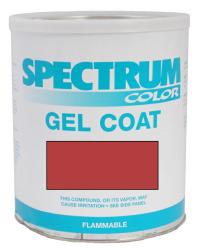 Chris Craft, 1988, Red Color Boat Gel Coat Ga …