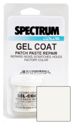 Malibu, 2005-2010, White LVOC Color Boat Gel  …