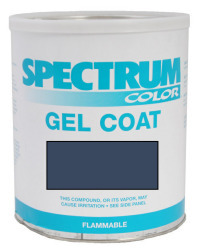 Seaswirl, 2003-2005, Blue Color Boat Gel Coat …