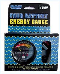 Panel Mount Battery Gauge For Four Batteries  …