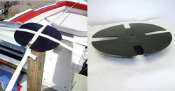 Boat Shrink Wrap Support Pole End Cap Pad - A …