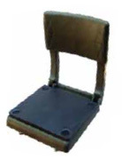 Canoe Seat, OD Green - Wise Boat Seats