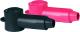 Stud Caps, 8-4 AWG, Black, (2) - Blue Sea Sys …