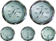 Oil Pressure, 80 PSI, Stainless Steel - Faria