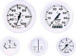 Oil Pressure, 80 PSI, Aluminum - Faria