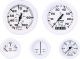 Voltmeter, 10-16 VDC, Aluminum - Faria