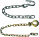"Safety Chain, 1/4"" x 24"" with Safet …"