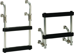 "Transom Ladder, 15"" 2-Step - Garelick"