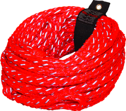60' Bling Red Tube Tow Rope 4,100 lb 4-Pe …
