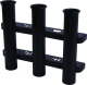 3-Pole Rod Holder, Black - Seadog Line