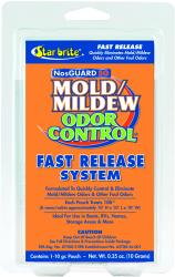 Fast Release Mildew Odor Control, (1) 10 gr.  …