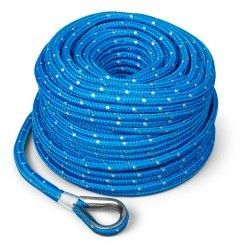 "Anchor Rope, 3/16"" x 100', Blue - Tr …"