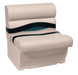 "Premier Pontoon 27"" Bench Seat, Platinum …"