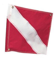 "Diver Down Flag, 20"" x 24""  - Kwik  …"