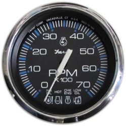 Chesapeake SS Tachometer with SystemCheck, 7K …