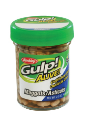 Berkley Gulp! Alive! Maggots - Color: White