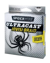 Spiderwire Ultracast Invisi-Braid 1500 Yd. Sp …