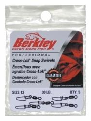 Berkley Cross-Lok Snap/Swivels - Size: 12, Lb …