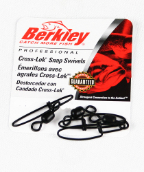 Berkley Cross-Lok Snap/Swivels - Size: 7, Lb. …
