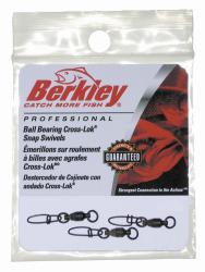Berkley Ball Bearing Cross-Lok Snap/Swivels - …