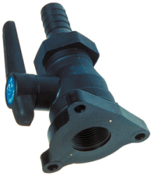 Seacock Flange Mt. 1.5in Mf849 - Forespar