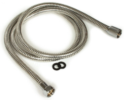 Chrome Shower Flex Hose - Camco