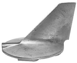 Aluminum Skeg Anode CM61A4537100A - Martyr An …