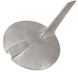 Aluminum Skeg Anode CM69L4537100A - Martyr An …