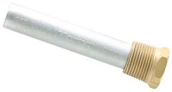 """Pencil Anode w/ Plug, Zinc, 1/2"""" Dia X 2 …"""