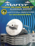 Yamaha 200-250 HP Aluminum Anode Kit CMY20025 …
