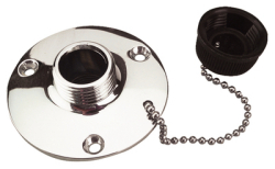 Chrome Brass Fresh Water Outle - Seadog Line