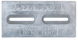 "Divers Dream, Aluminum 1/2"" x 6"" x  …"