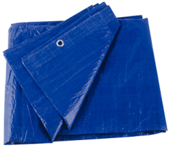 TARP BLUE VINYL 10' X 12' - Seachoice