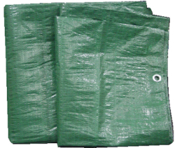 TARP GREEN POLY 25' X 40' - Seachoice