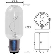 Replacement Bulb 12v 25w #2984 - Hella