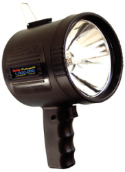 Rechargeable Spotlight 6v Blk - Optronics