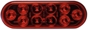"6"" Oval Sealed Led Stop/Turn/Tail Light, …"