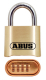 Combo Lock W/ 1in S/S Shackle - Abus Lock