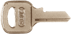 Key Blank For 5540 (55/40kbr) - Abus Lock