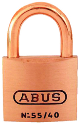 Padlock Key #5404 Brass 1-1/2i - Abus Lock