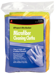 Microfiber Detailer Cloth 12pk - Buffalo Indu …
