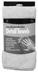 Microfiber Detail Towels 2/Pk - Buffalo Indus …
