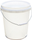 Plastic Bucket 5 Gal White - Encore