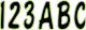 """Series 200 3"""" Boat Decal Letter & Nu …"""